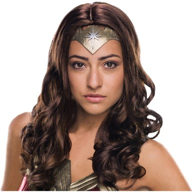 Adult Secret Wishes Wonder Woman Wig