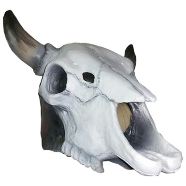 Adult Skull Head Cow Halloween Mask