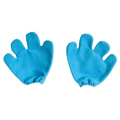 Adult Smurf Mittens Costume Accessory