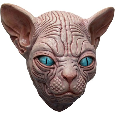 Adult Sphynx Egyptian Cat Costume Mask
