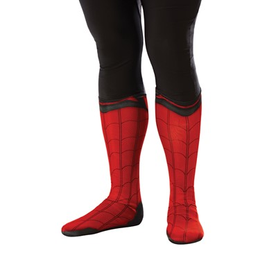 Adult Spiderman Homecoming Boot Tops