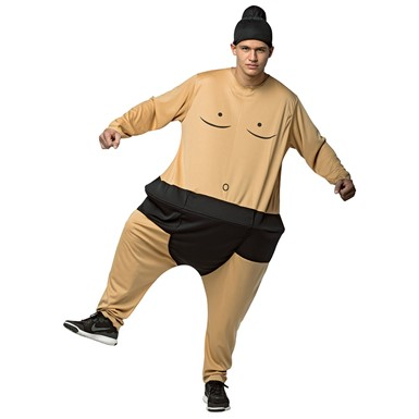 Adult Sumo Hoopster Costume