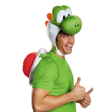 Adult Super Mario Yoshi Halloween Kit
