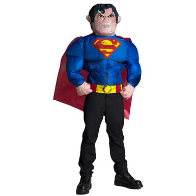 Adult Superman Inflatable Costume Top