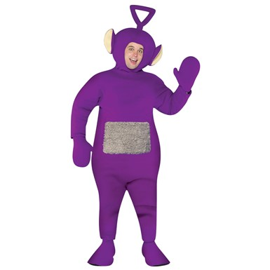 Adult Teletubbies Tinky Winky Halloween Costume