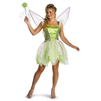 Adult Tinkerbell Costume - Deluxe