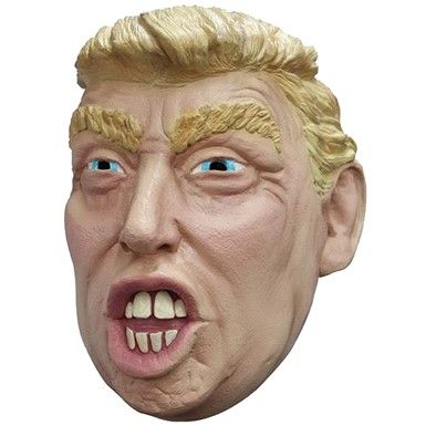 Adult Trump Halloween Political Mask