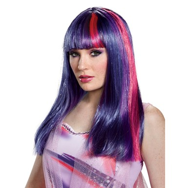 Adult Twilight Sparkle Purple Wig