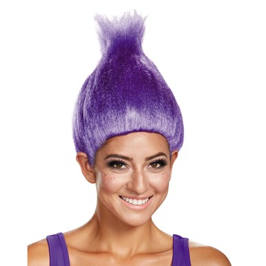 Adult Wacky Troll Wig – Purple