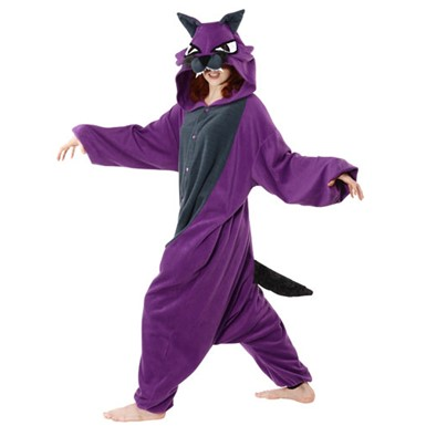 Adult Wolf Mascot Halloween Costume
