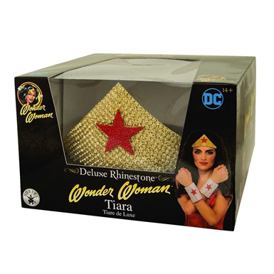 Adult Wonder Woman Tiara Rhinestone Crown