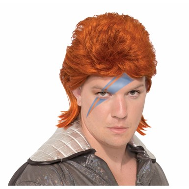 Adult Ziggy Stardust David Bowie Wig
