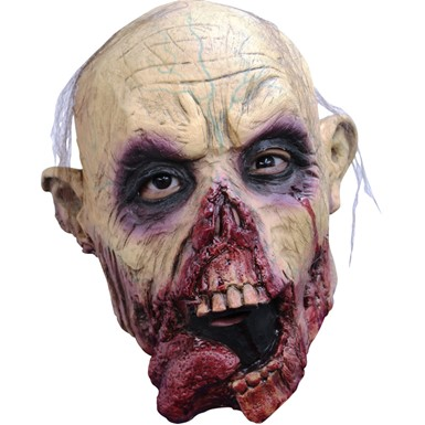 Adult Zombie Tongue Jr. Halloween Mask