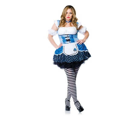 Alice In Wonderland Costume - Sexy Magic Mushroom Plus Size