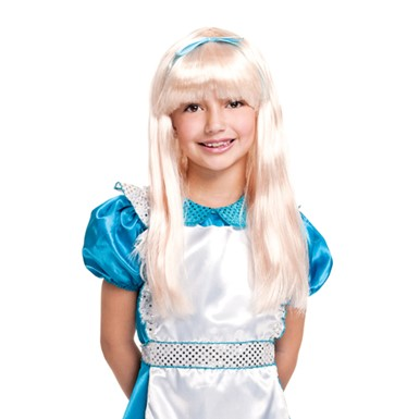 Alice in Wonderland Wig - Child Alice Wig