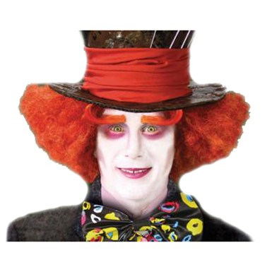 Alice Mad Hatter Wig Halloween Costumes and Accessories