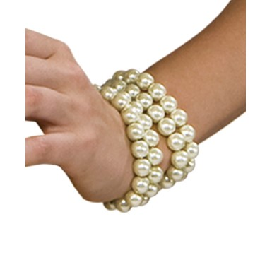 All That Jazz Womens Halloween Pearl Bracelet