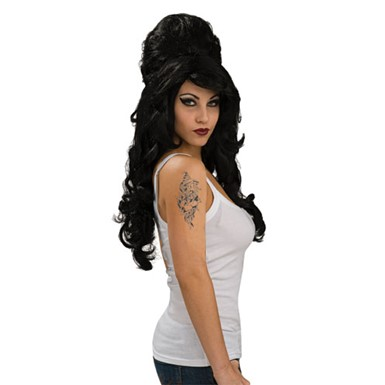 Amy Winehouse Rehab Wig Costume Accessory