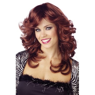 Auburn Discorama Mama Wig for Adult Halloween Costume