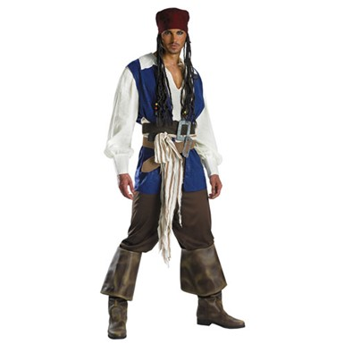 Authentic Jack Sparrow Costume - Adult