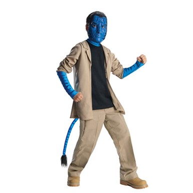 Avatar Child Deluxe Jake Sully Boys Halloween Costume
