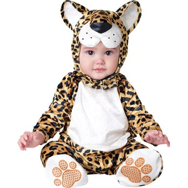 Baby Leapin' Leopard Animal Halloween Costume