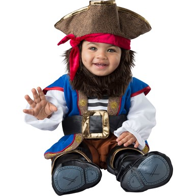 Baby Lil Swashbuckler Pirate Halloween Costume
