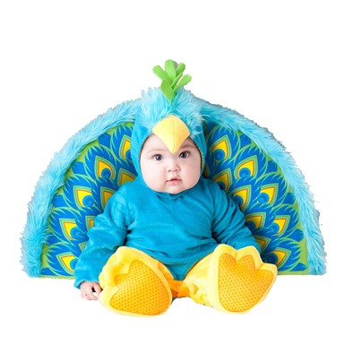 Baby Precious Peacock Animal Bird Halloween Costume