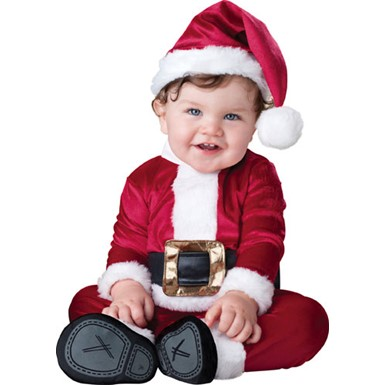 Baby Santa Claus Christmas Halloween Costume