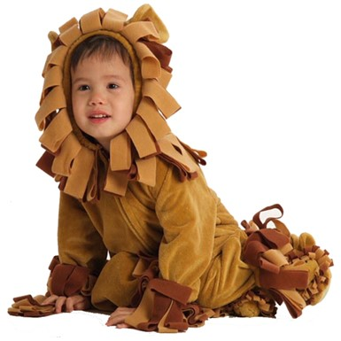 Baby Shaggy Lion Costume