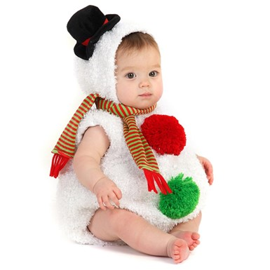 Baby Snowman Infant Toddler Halloween Costume