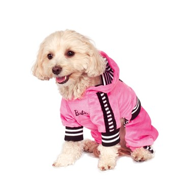Barbie Sporty Girl Track Suit Dog Pet Costume