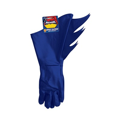 Batman Brave and Bold Adult Gloves Costume Accessory