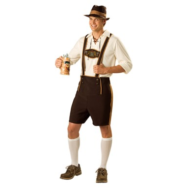 Bavarian Guy Costume - Adult