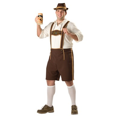 Bavarian Guy Mens Big & Tall Halloween Costume