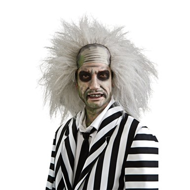 Beetlejuice Halloween Wig - Mens