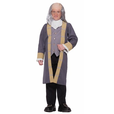 Benjamin Franklin Costume Child