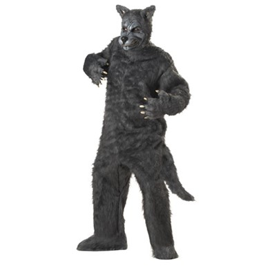 Big Bad Wolf Halloween Costume - Grey