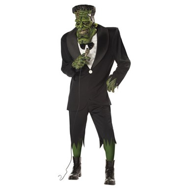 Big Frank Adult Mens Frankenstein Halloween Costume