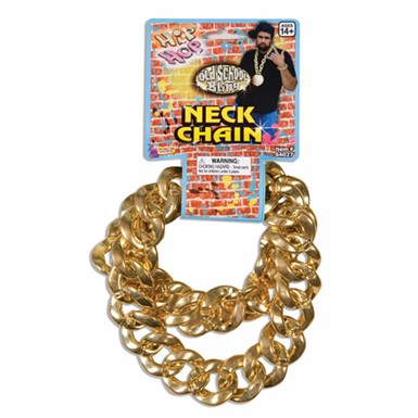 Big Link Hip Hop Halloween Gold Neck Chain