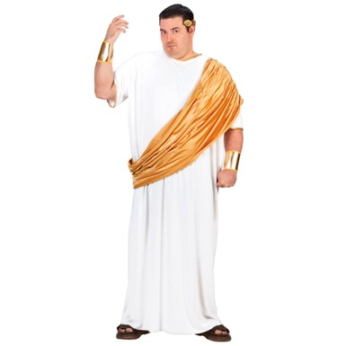 Big & Tall Hail Caesar Mens Roman Emperor Costume