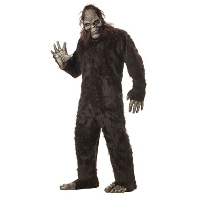 Bigfoot Costume - Mens Big Foot