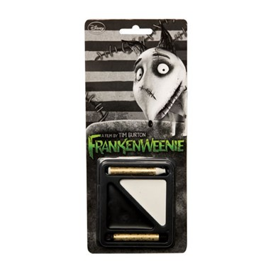 Black And White Frankenweenie Makeup