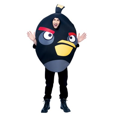 Black Angry Birds Costume