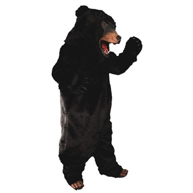 Black Bear Complete Costume