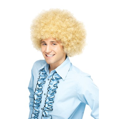 Blonde Afro Wig Costume - Supa Fro