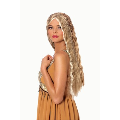 Blonde Hot Diva Crimped Wig