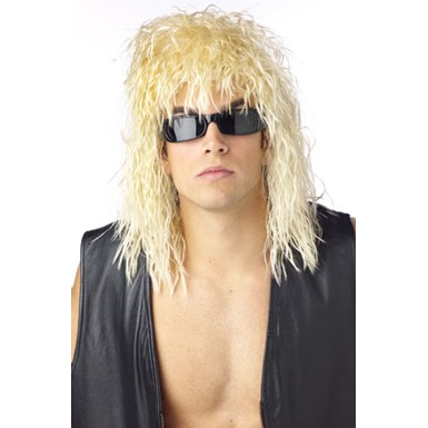 Blonde Rocker Wig - Rockin' Dude Blonde