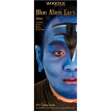 Blue Alien Ears