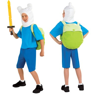Boys Adventure Time Finn Deluxe Halloween Costume